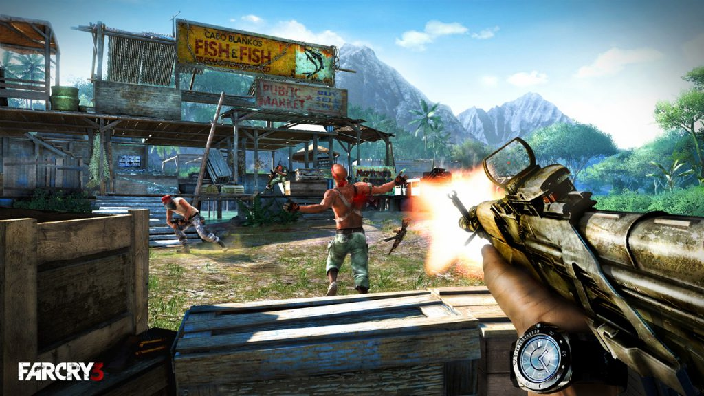 Far Cry 3 first person shooter campaign